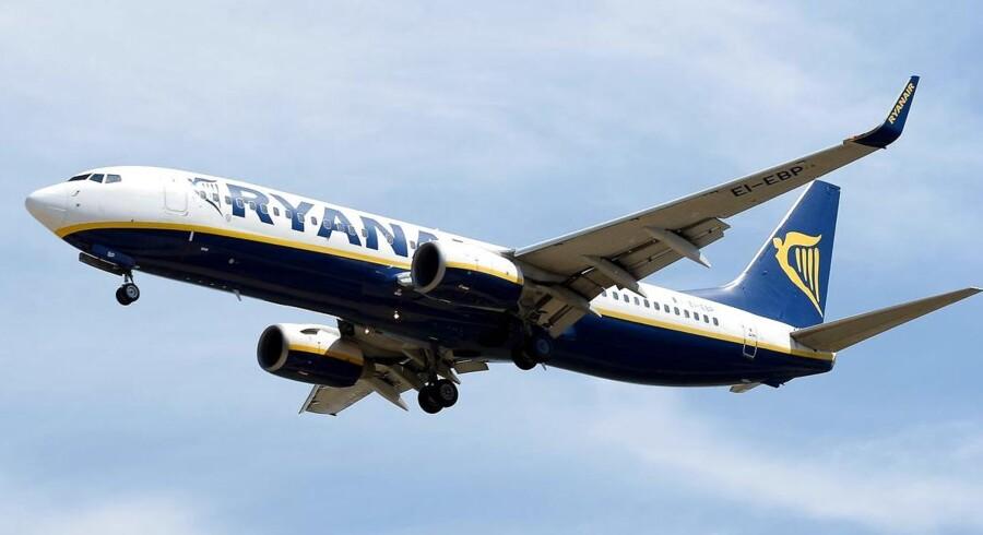 Ryanair sætter åbning af nye britiske flyruter på standby i kølvandet på brexitafstemningen. (Foto: Josep Lago)