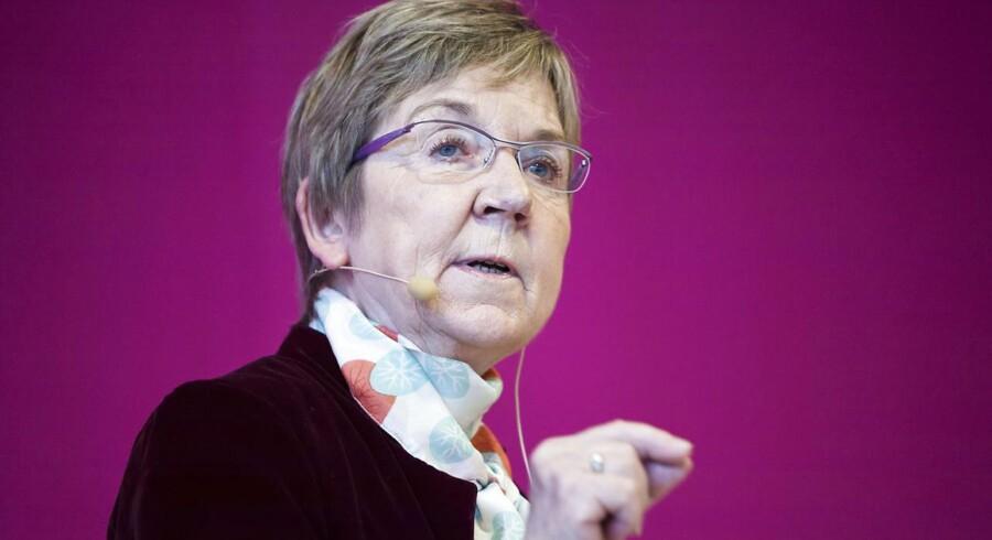 ARKIVFOTO: DF vil ind i midten af dansk politik og samarbejde med V og S. Men bevægelsen er ikke fuldbragt, siger Jelved.