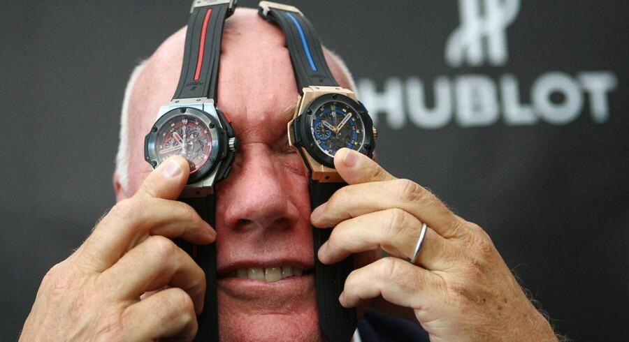Portræt af Jean-Claude Biver, CEO for Tag Huer, er i Danmark for at tale om Tag Heuer og deres racerure.