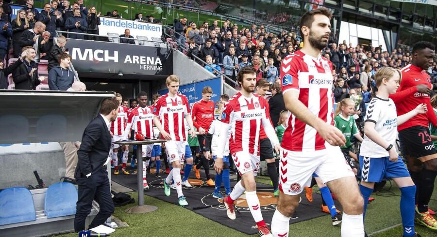 Aalborg Boldspilklub, der driver fodboldklubben AaB, landede i første kvartal af 2018 et underskud på 6,5 mio. kr.