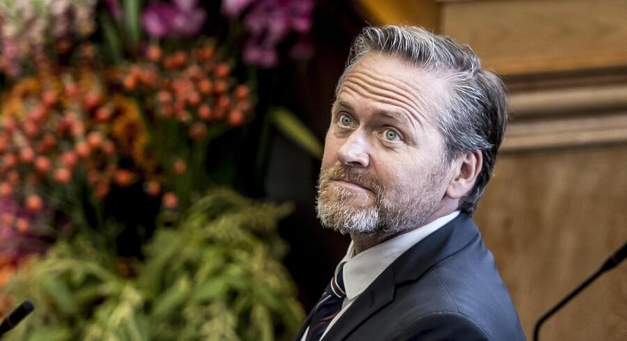 Danmarks udenrigsminister, Anders Samuelsen (LA), har fredag deltaget i et møde med EU's udenrigsministre i Bruxelles. Scanpix/Mads Claus Rasmussen/arkiv
