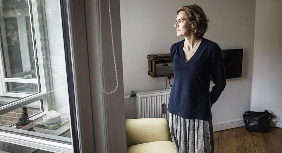 Petra Ulmer skal skilles og har i den forbindelse købt en lille bolig på 44 kvadratmeter på Amager. Der er rift om Københavns små boliger.