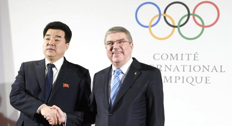 Nordkorea stiller med 22 udøvere og vil konkurrere i fem discipliner i tre sportsgrene ved det forestående vinter-OL i Pyeongchang,