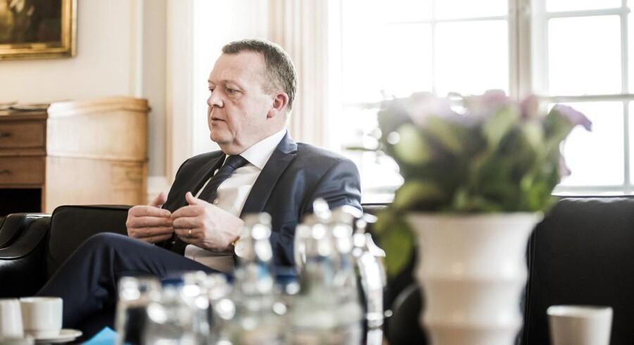 Primeminister Lars Løkke Rasmussen (V).