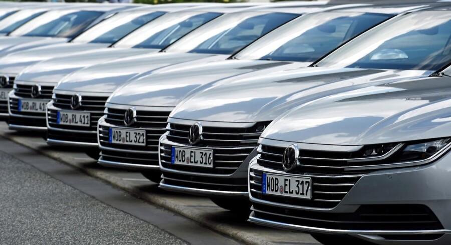 Arkivfoto. Volkswagen.