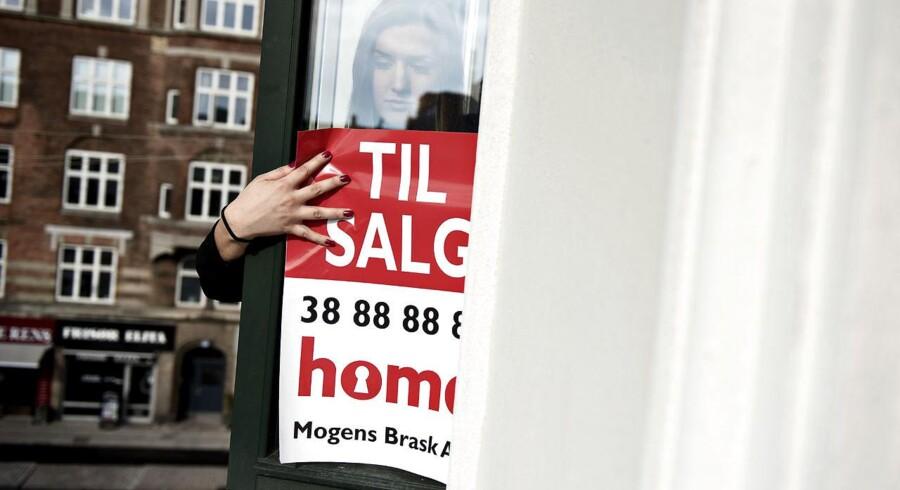 »Sælgerne er blevet mere optimistiske og sætter deres huse til salg til stadigt højere priser.«