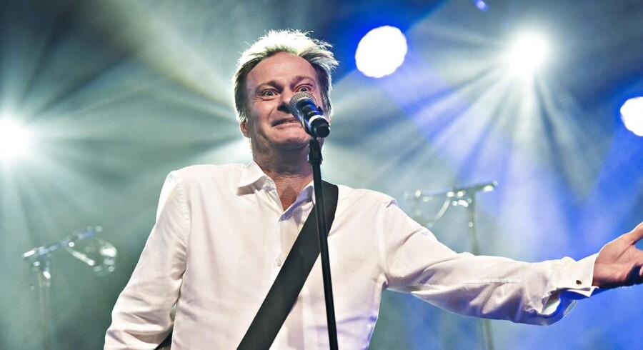 Knud Romer på scenen ved Danish Music Awards Jazz 2016 i Bremen Teater. Arkivfoto.