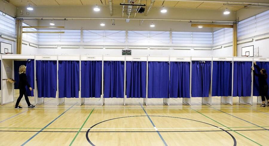 Ud af de i alt knap 2500 byrådsmedlemmer er 164 ikke længere en del af det parti, de stillede op for ved det seneste kommunalvalg. (Foto: Liselotte Sabroe/Scanpix 2017)