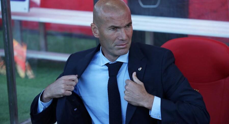 Arkivfoto. Real Madrid-træneren er ikke bekymret, selv om kongeklubben med nyt nederlag nu er otte point fra Barcelona.
