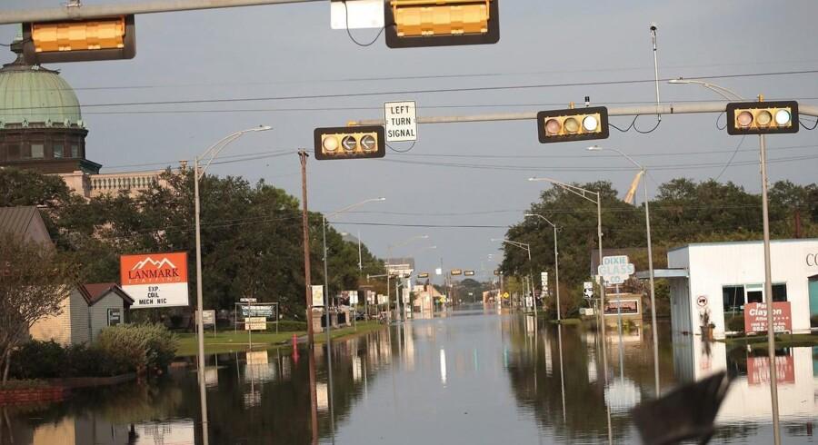 Oversvømmelser i Orange, Texas. Foto: Scott Olson / Getty Images / AFP.