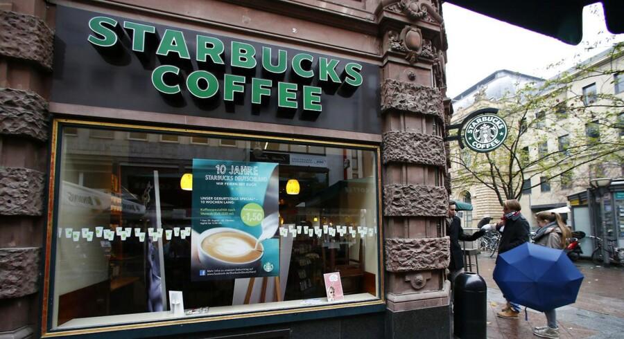 Starbucks åbner på Danmarks bedste placering - Rådhuspladsen.
