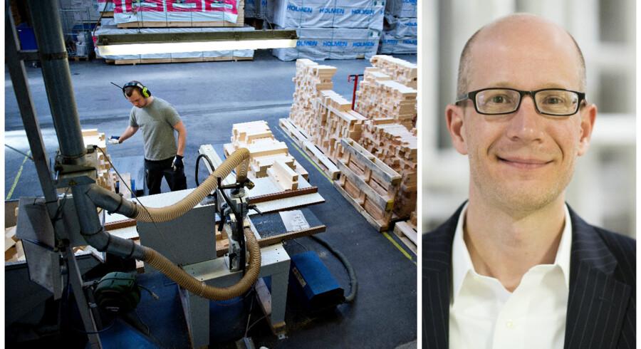Der bliver afskediget medarbejdere som følge af ny teknologi og robotter, men langt flere ansætter faktisk som følge af udviklingen, viser Berlingskes Toplederpanel.
