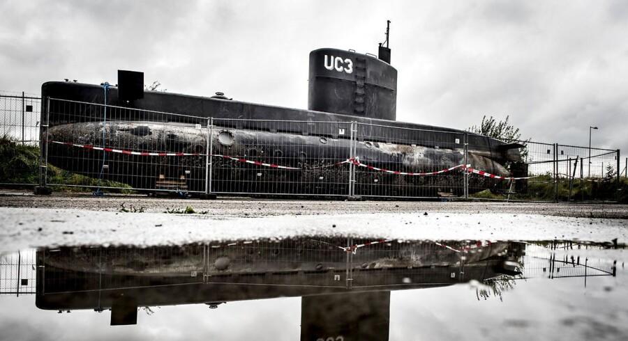Intet CO2, ingen kulilte og ingen NOx-partikler blev fundet i UC3 Nautilus, fastslog kaptajnløjtnant i Søværnet og ubådsekspert Ditte Dyreborg fra vidneskranken i Københavns byret 3. april, 2018 (Foto: Mads Claus Rasmussen/Scanpix 2018)