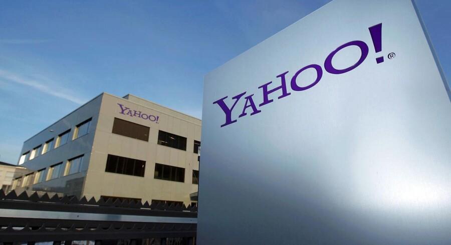 Der er ikke meget at råbe »yahoo« ad efter afsløringen af, at hackere - angiveligt fra en fremmed stat - har stjålet personlige oplysninger om mindst en halv milliard Yahoo-brugere, sandsynligvis også mange danskere. Arkivfoto: Denis Balibouse, Reuters/Scanpix