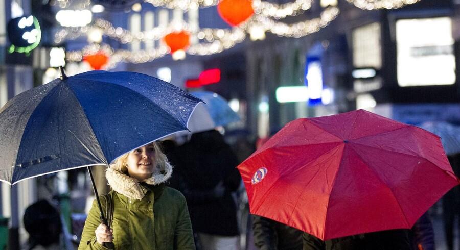 Glem alt om hvid jul: Det bliver mildt, ustadigt og blæsende. December har været usædvanlig varm.