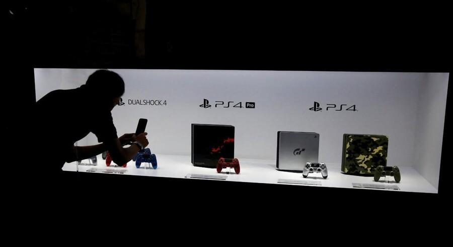 Playstation 4 er langt mindre end forgængerne - og en storsællert for Sony, der har haft det hårdt i en tid. Arkivfoto: Kim Kyung-Hoon, Reuters/Scanpix