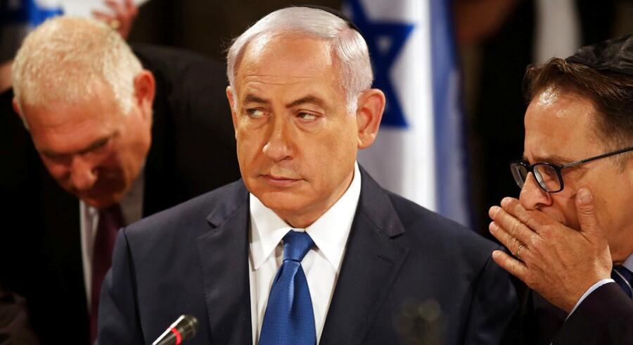 Israels premiereminister Benjamin Netanyahu.
