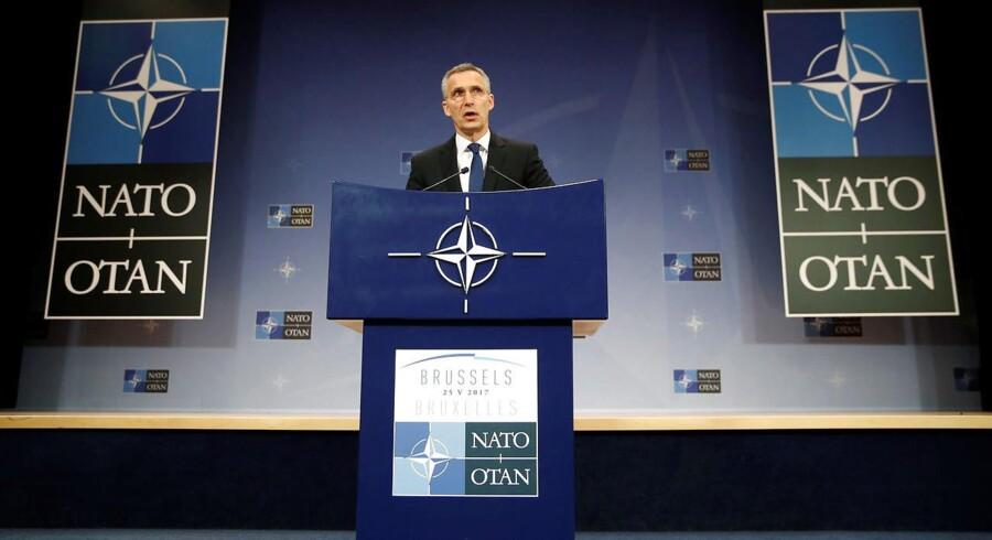 NATO skal være med i koalitionen.