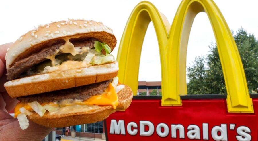 Arkivfoto. Det boomer for tiden med alle mulige slags koncepter med gode råvarer i burgere på nye restauranter. McDonald's skal i kæmpe i et markedet, hvor sundhed, økologi og kvalitet spiller en væsentlig rolle, siger trendforskeren Dorte Wimmer.