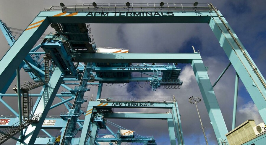 APM Terminals på havnen i Los Angeles
