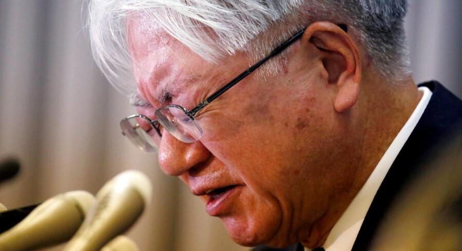Kobe Steels topchef Hiroya Kawasaki