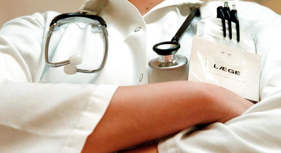 Arkivfoto: Speciallæger har en langt større pension end mange andre erhverv.