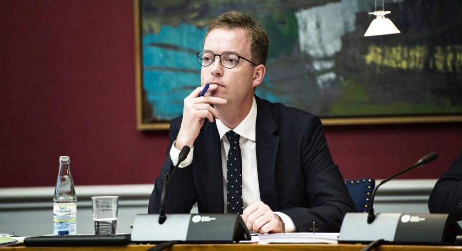 Arkivfoto: Den såkaldte grundvandsanalyse blev sat i gang af miljø- og fødevareminister Esben Lunde Larsen (V) efter hårdt pres fra landbruget.
