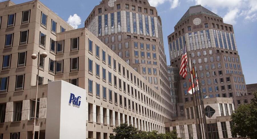 Procter & Gamble Co. hovedkvarter i Cincinnati, Ohio. Arkivfoto.