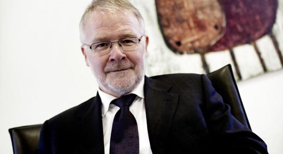 Formand for Lederne, Svend Askær.