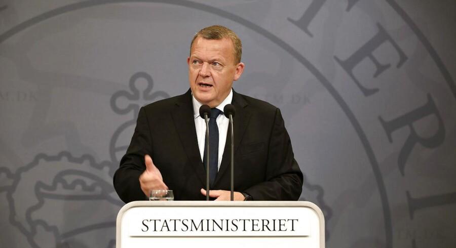 »Det er på mange måder en trist morgen at vågne op til,« sagde statsminister Lars Løkke Rasmussen (V) på et pressemøde efter den britiske folkeafstemning om EU.