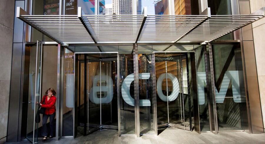 CBS og Viacom sagde torsdag, at tv-stationernes bestyrelser har dannet en fælles komite, der skal undersøge muligheden for en fusion. Arkivfoto.