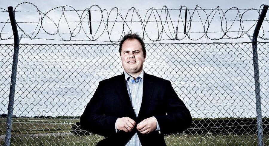 Dansk Folkepartis udlændingeordfører Martin Henriksen. (Foto: Bax Lindhardt/Scanpix 2015).