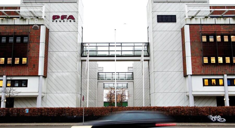 PFA bygningen Marina Park Sundkrogsgade.