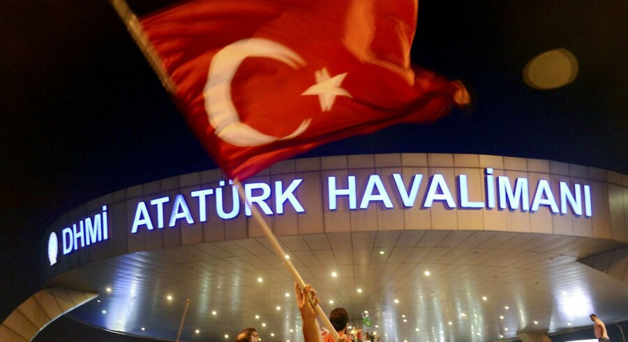Atatürk-lufthavnen i Istanbul