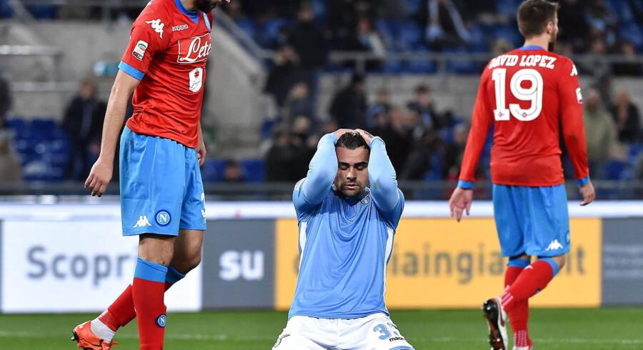 Napoli vandt kampen mod Lazio med 2-0 og fører fortsat Serie A.