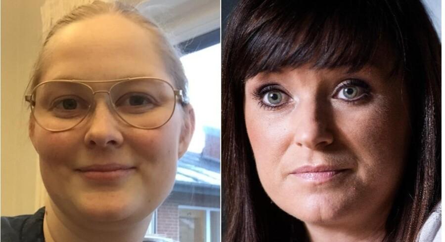I protest mod umeldinger fra Innovationsminister, Sophie Løhde (V), lagde sygeplejerske Rikke Bæk Cramer sin lønseddel på Facebook.