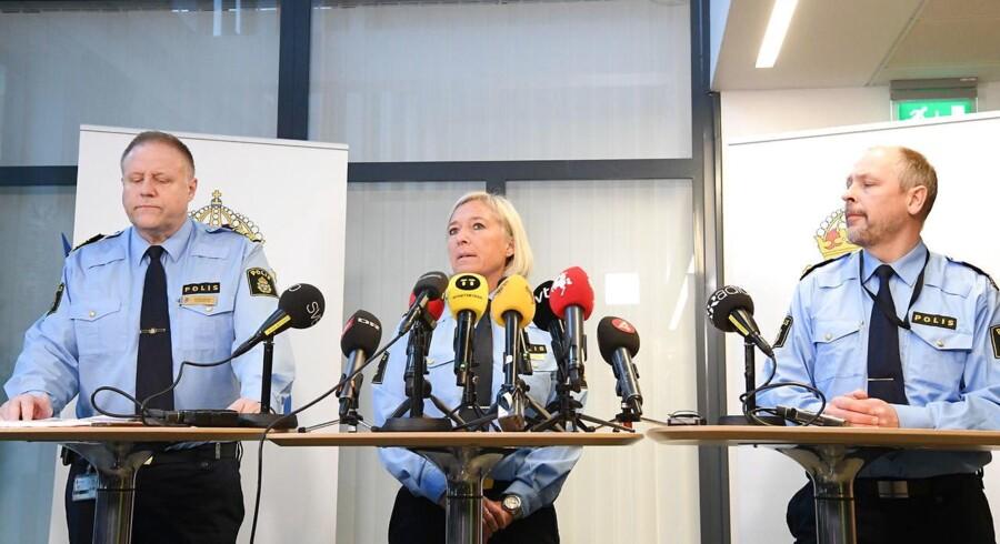 Pressemøde.