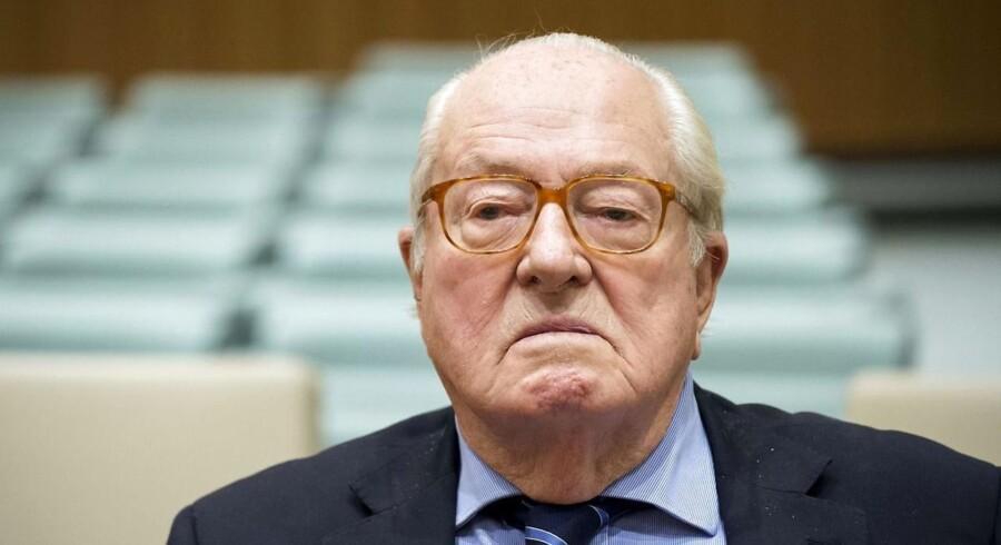 Le Pen er flere gange blevet dømt for hadefulde ytringer. Foto: AFP / Ritzau/Scanpix