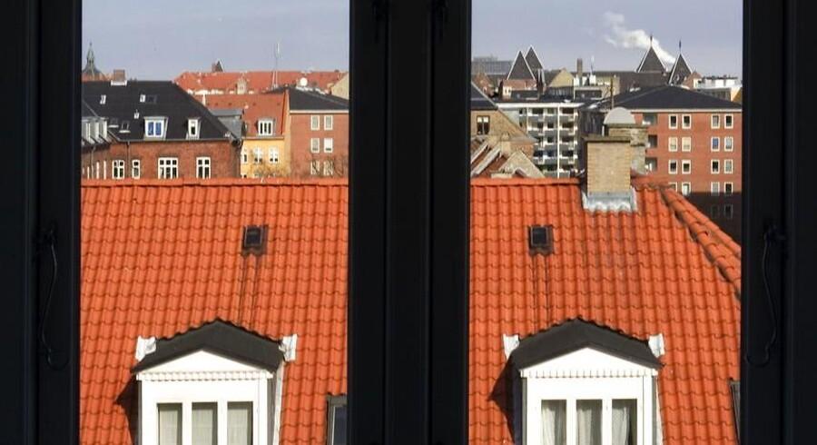 Byens tagboliger, her på Gl. Kongevej på Frederiksberg.