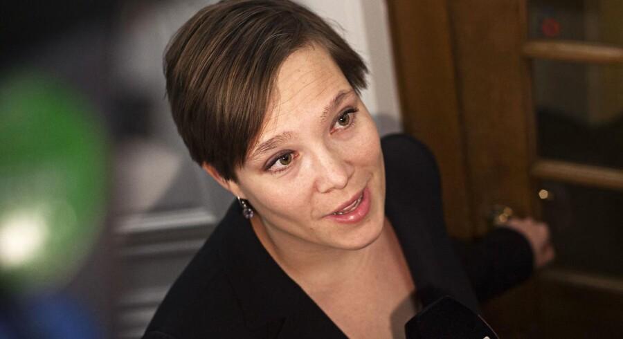 Arkivfoto: Socialdemokratiets ældreordfører, Astrid Krag, mener, at regeringen burde have lyttet mere til kritikken af puljen til plejehjemskøkkener.