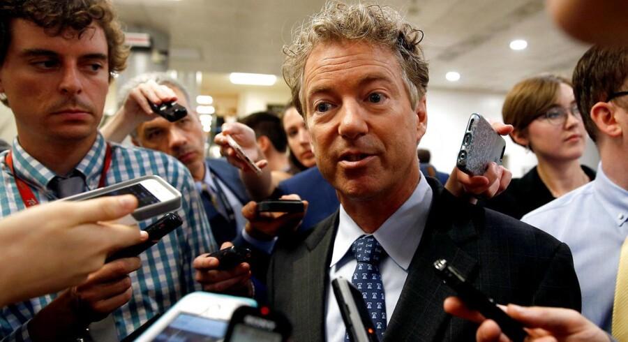 Den republikanske senator Rand Paul kritiserer Republikanernes forslag til en sundhedsreform.