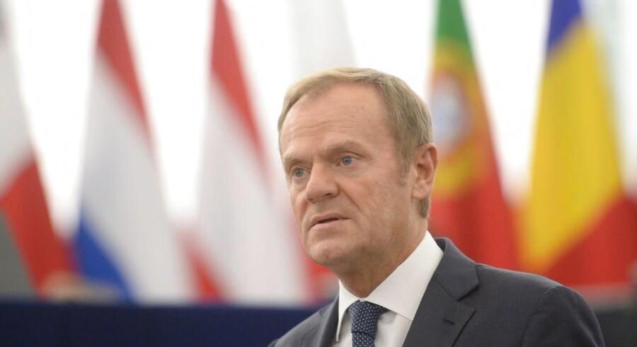 Hvis brexit-forhandling skal gå videre til anden fase på det næste topmøde, kræver det flere fremskridt senest i starten af december, siger EU-præsident Tusk.
