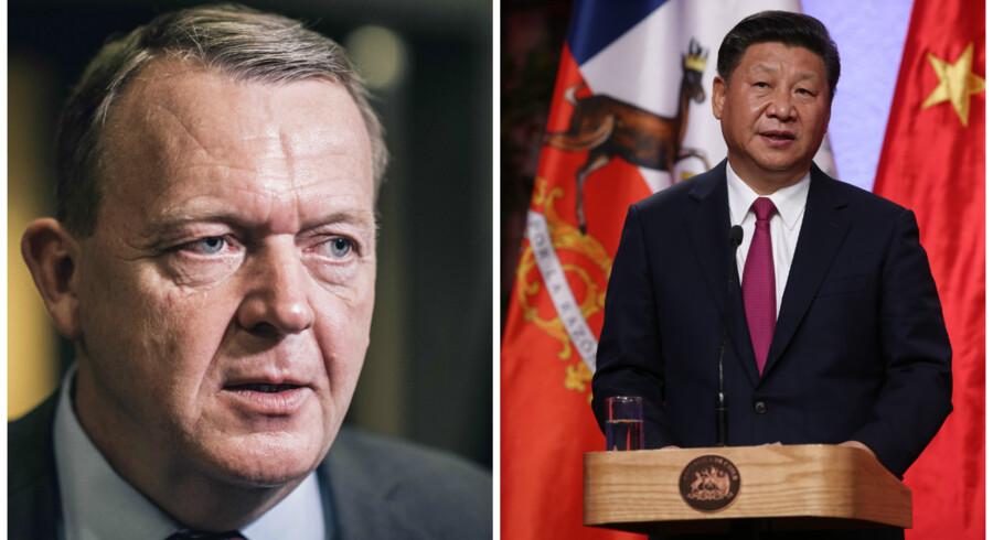 Fire ministre med statsminister Lars Løkke Rasmussen (V) i spidsen skal alligevel ikke til Kina fra 4. til den 7. december.