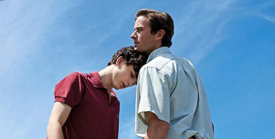 Timothée Chalamet som Elio og Armie Hammer som Oliver i Luca Guadagninos rørende »Call Me By Your Name«. PR-foto UIP