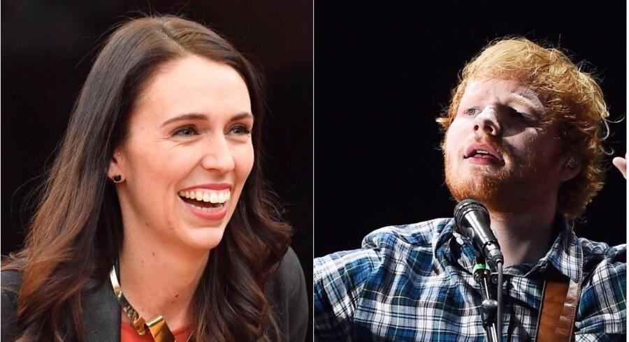 Britisk musiker Ed Sheeran har uofficielt anmodet om statsborgerskab i New Zealand. Men først skal han svare på tre spørgsmål fra landets premierminister.