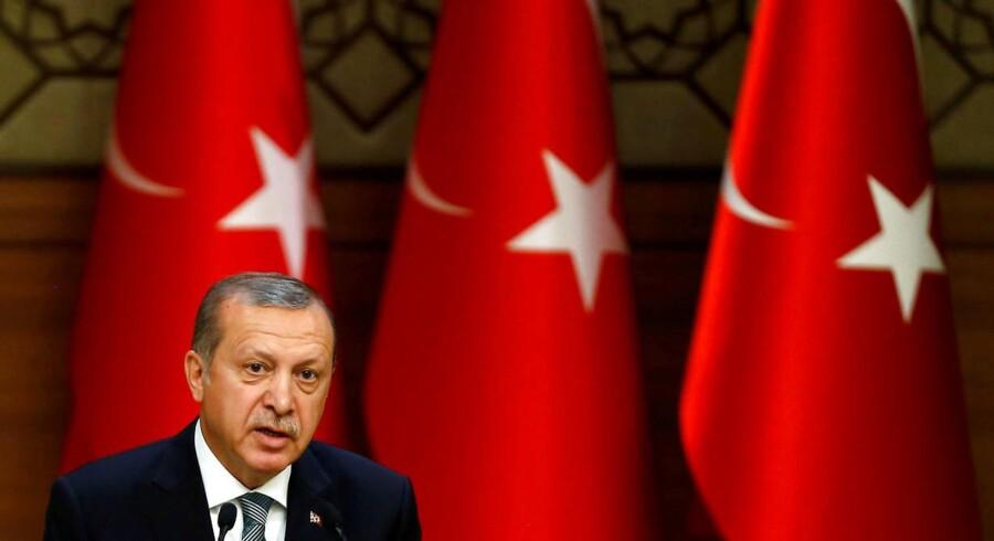 Den tyrkiske præsident Recep Tayyip Erdogan har indledt en omfattende klapjagt på sine fjender i kølvandet af det mislykkede kupforsøg.