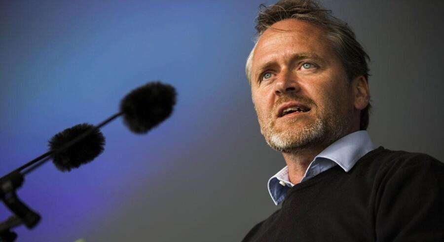 Samuelsen: Trump underminerer sit embede med Twitter-bank (Foto: Ólafur Steinar Gestsson/Scanpix 2017)