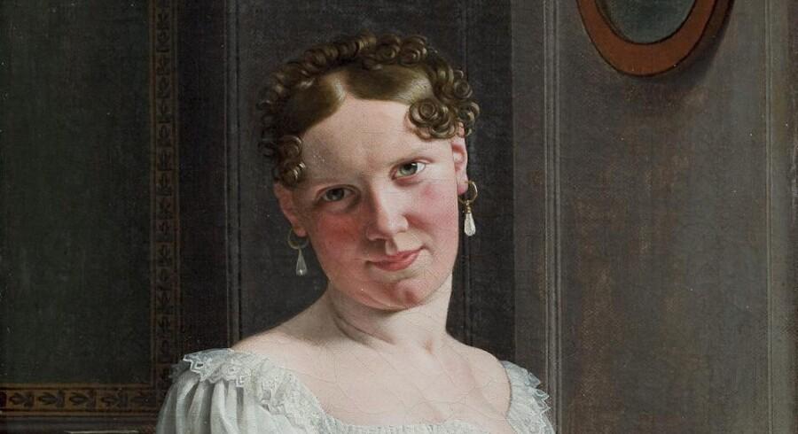 Eckersbergs første kone Julie.