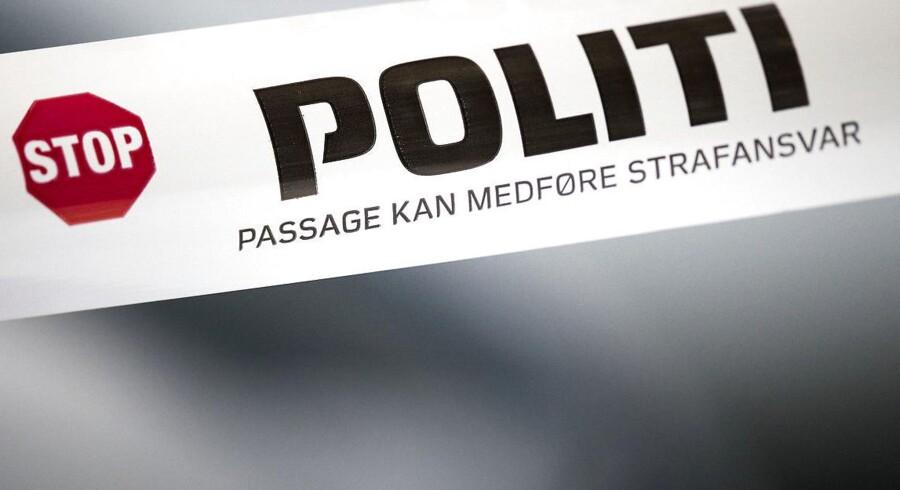 Arkivfoto: Liget, der tirsdag blev fundet i et telt i Nykøbing Mors, har angiveligt ligget så længe i teltet, at det er svært for politiet at identificere personen.