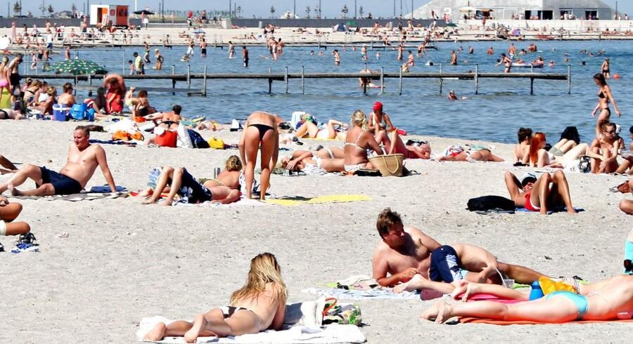 Vejret er ved at blive for alvor sommerligt, siger DMI.